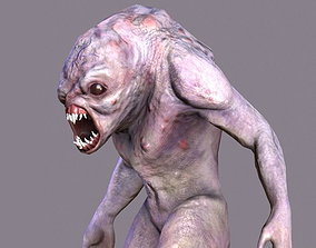 Character Mutant Ghoul 3D asset