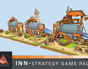 3D asset Inn - Strategy Game Pack