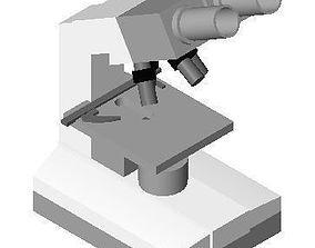 3D model MICROSCOPES LABORATORY