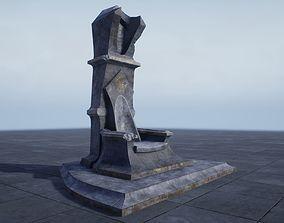 Throne PBR 3D model