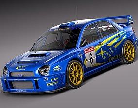 Subaru Impreza STi WRC 2001 3D