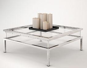 Eichholtz Coffee Table Harvey Sliding Top 3D