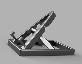 Collapsible Adjustable Phone Stand 3D printable model