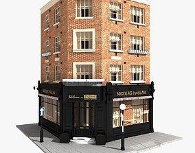 3D model London Corner Building