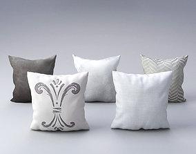 3D model Pillow Set 2