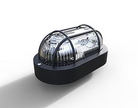Simple Bulkhead light 3D model