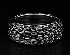 Eagle feather ring 615 3D printable model