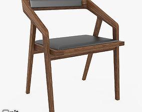3D Katakana chair by Dare Studio