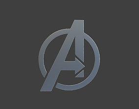 Avenger Logo 3D print model pendants