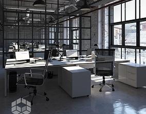 3D model Loft Office 2
