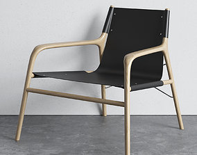 Bolia Soul lounge chair 3D