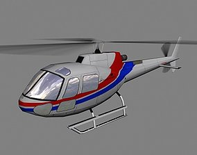 3D model As-350 V2 Helicopter