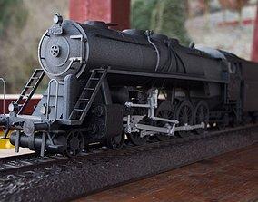 3D printable model Steam train Noblewoman with tender