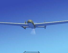 Mohajer 3 Drone V02 3D model