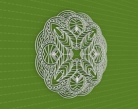 pattern ornament Mandala 3D