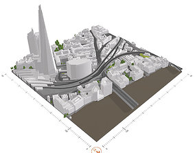 Free 3D Model of London - Sample of AccuCities Level 3 1