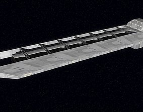 3D model Generic Trade Space Freighter
