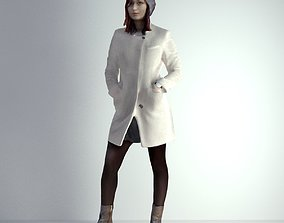 3D Scan Woman Winter 001