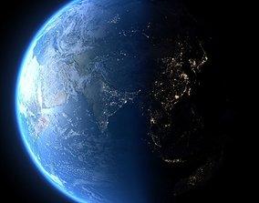 3D model Earth in March