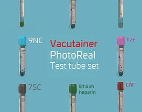 Test Tube 3D model PBR