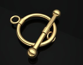 Jewellery Accessories Bracelet Lock T Clasps 3D print