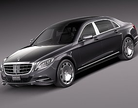 Mercedes-Benz S-Class Maybach 2016 3D