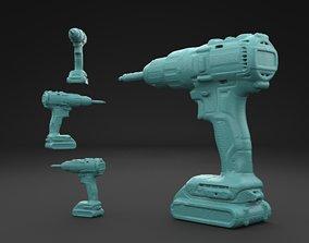 Scanned DeWalt DCD778S2T 3D print model