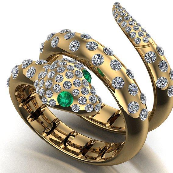 fashion snake ring