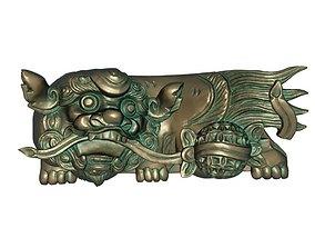 Copper lion 3D print model