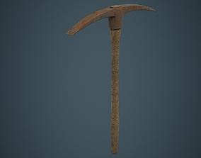 3D asset Pickaxe 1C