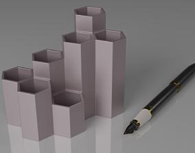 Hive Pen Holder 3D print model