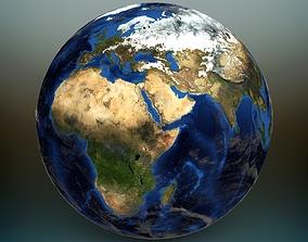 3D model planet Planet Earth