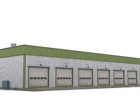 3D model game-ready Garage
