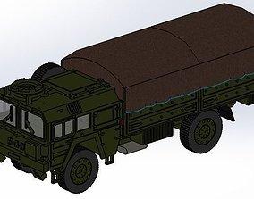 vehicle MAN KAT 1 4x4 MILITARY TRUCK - 3D PRINT Design