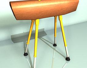 3D model Gymnastics Pommel Horse