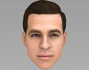 Chris Pine 3D model