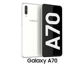 Samsung Galaxy A70 White 3D model