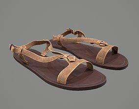 3D Female Sandals