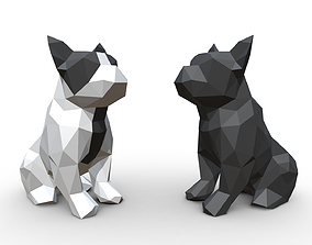 French Bulldog Figure 3D printable model