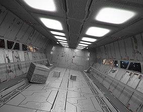 3D asset Spaceship Textures Starter Pack