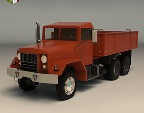 Low Poly Vintage Truck 01 3D model VR / AR ready