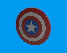 Captain America Emblem 3D printable model