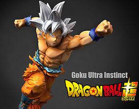 Goku Ultra Instinct 3D decor
