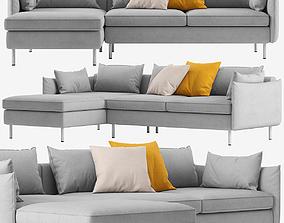 3D model Sofa Made Vento corner