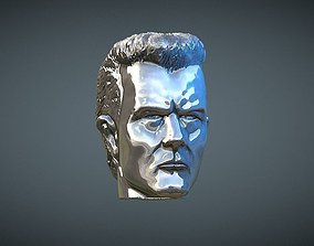 3D printable model Terminator T1000 inspirited figure Head