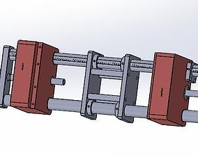 Double location fine-tuning platform 3D model