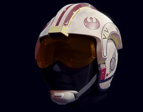 3D printable model X-Wing Helmet from Star Wars