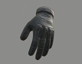 Gloves 3D model game-ready