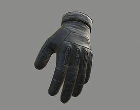 Gloves 3D asset low-poly