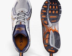 Spalding Running Shoes 3D asset